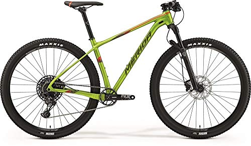 Merida Big.Nine NX-Edition 2019 - Bicicleta de montaña, color verde y rojo