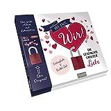 Auf ewig wir!: Die Geschichte unserer Liebe. Eintragbuch & Bucket List (Set: Buch mit original ABUS (72/40) Liebesschloss) -