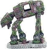 TBNB Decoración de Acuario Robot Perro Pecera Decoración de paisajismo Adorno de Acuario