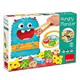 Goula - Hungry Monster Juego para Niños, Multicolor (53172)