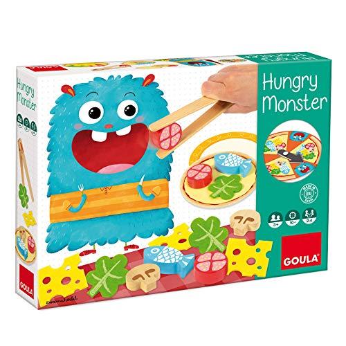 Goula - Hungry monster - Juego de mesa preescolar a partir de 3 años (Juguete)