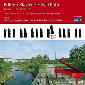 New Piano Music (Edition Ruhr Piano Festival, Vol. 14) (Live)