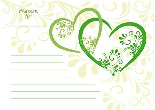 galleryy.net 50 Ballonflugkarten zur Hochzeit GELOCHT, Flugkarten für Hochzeitsballons im Set zum Hochzeitsspiel im Ballonflugkartenset - Hochzeit mit Liebe