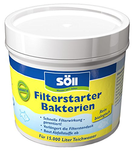 Söll Filter Starter Bacteria – Activate the Biology in Your Pond Filter