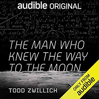 The Man Who Knew the Way to the Moon audiobook cover art