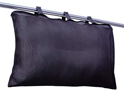 アルファックス ランドリーネット ブラック 幅70×奥行40×厚み1cm 黒力 まくら用洗濯ネット 433200