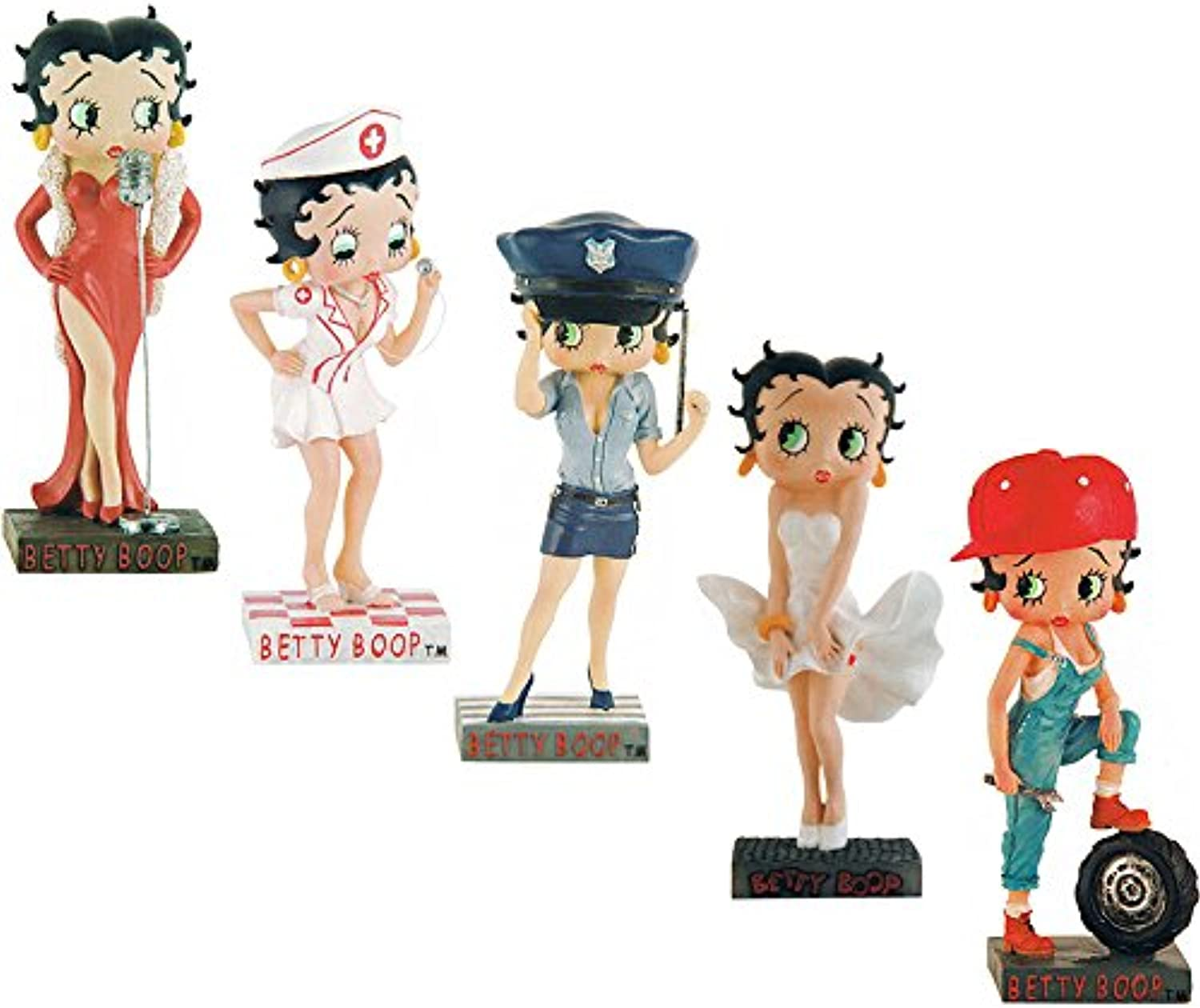 Lot of 10 Betty Boop figures Collectable  figurine (111)
