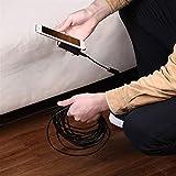 CHEdnh-Hk Endoscopio USB de la cámara endoscopio HD endoscópica localizador de la Pipa del USB Mini cámara Boroscopio para inspección de hendiduras (Cable Length : 5M, Diameter : Soft Wire)