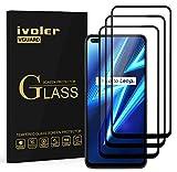 ivoler 3 Stücke Panzerglas Schutzfolie für Oppo Realme 6 Pro, [Volle Bedeckung] Panzerglasfolie Folie Hartglas Gehärtetem Glas BildschirmPanzerglas für Oppo Realme 6 Pro