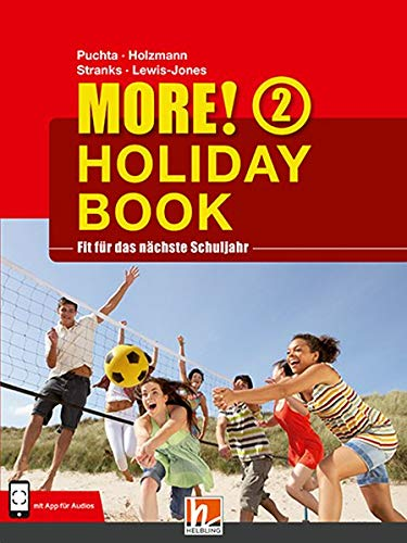 MORE! Holiday Book 2, mit App für Audiomaterial