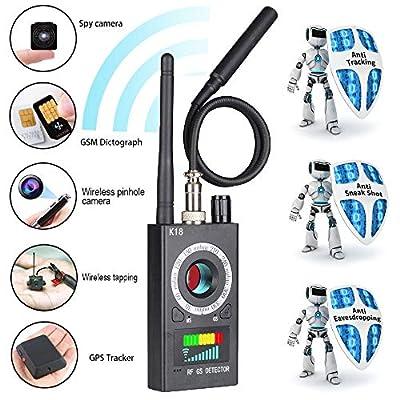 Innoo Tech Anti Spy Detector & Camera Finder RF Signal Detector GPS Bug Detector Hidden Camera Detector for GSM Tracking Device GPS Radar Radio Frequency Detector