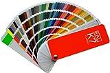 Muestras de colores de código RAL K7