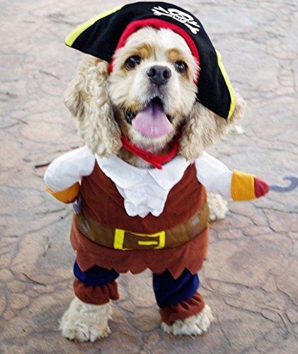 rc-angel Pet Hund Kleidung Party Pirat Sailor Captain Kostüme Cosplay Apparel Katze Handsome Outfit Kleidung