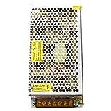 TOOGOO(R) Transformador Corriente de AC 110V 220V a DC 12V 16.7A 200W para Bombillas LED