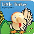 Little Turkey: Finger Puppet Book: (Finger Puppet Book for Toddlers and Babies, Baby Books for First Year, Animal Finger Puppets) (Little Finger Puppet Board Books)