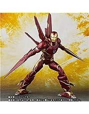 Dhl Vengadores Set Edición Hombre de Hierro movible en Caja de Juguetes 25CM (Size : 16CM)