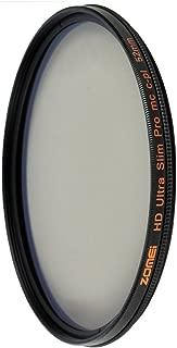 ZOMEi 58mm HD 18 Layer Super Slim Multi-Coated Circular Polarizer CIR-PL CPL Lens Filter