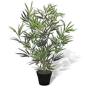 YTDTKJ Artificial Bamboo Tree with Pot 31″
