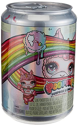 Poopsie 562658E7C - Lama a sorpresa Bonnie Blanca o Pearly Fluff, multicolore