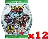 Yo-kai Watch Sachets de 3 médailles (Série 3) - x12
