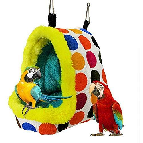 YITAQI Parrot Nest Pet Bird Nest,Warm Winter Hanging...