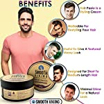 Hair Paste for Men - Hair Styling Cream with Minimal Shine & Medium Hold (2 ounces) - Styling Paste for Textured Messy… 4