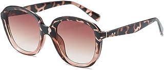 none_branded - None - Gafas de sol redondas para hombre, montura femenina, lentes negras, gran tamaño