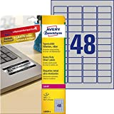 Avery Italia L6009-8 Etichette Resistenti in Poliestere, 45.7 x 21.2 mm