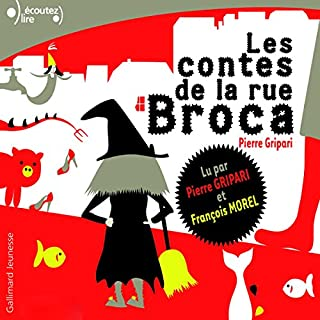 Les contes de la rue Broca audiobook cover art