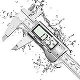 Messschieber Digital, Orthland Schieblehre IP54 Edelstahl Mikrometer Messlehre Messwerkzeuge 150mm mit größem LCD-Display