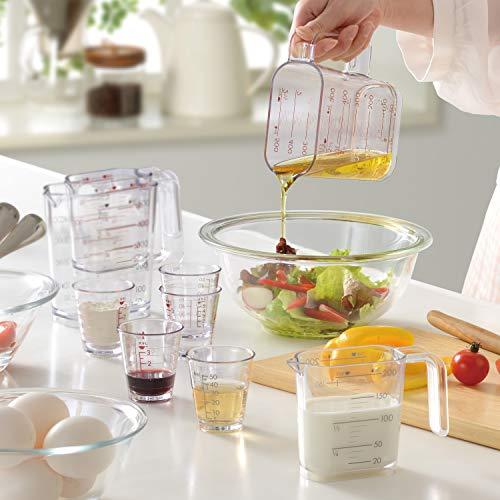 和平フレイズ調理器具計量カップジー・クック500mlシルバーグレー食洗器対応日本製GC-263