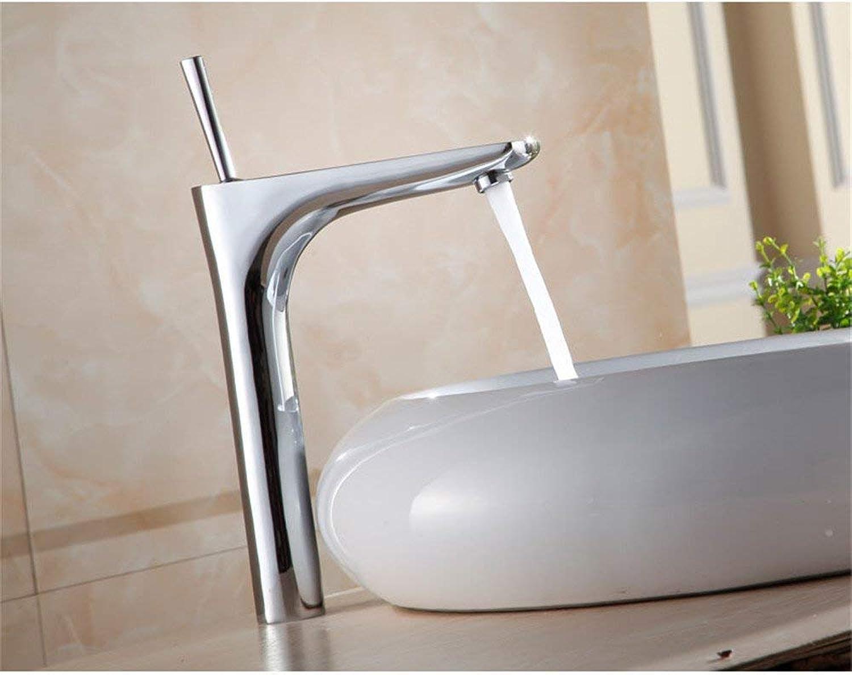 ZHAS Moderne Waschtischarmatur Einfach zu montierender, rostfreier Waschtisch-Mischbatterie, 03