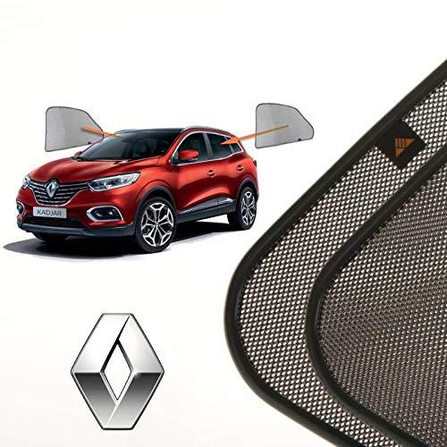 Cortinillas Parasoles Coche Laterales Traseras a Medida para Renault Kadjar (1) (2015-presente) SUV 5 Puertas