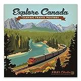 Explore Canada 2021 Wall Calendar