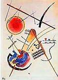 1art1 Wassily Kandinsky - Acquarell Poster Kunstdruck 90 x