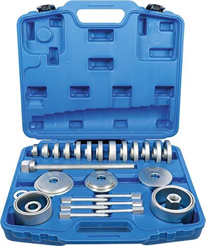 BGS 67301 | Radlager-Werkzeug-Satz | 31-tlg | Radlager-Abzieher | Radnabe | Ausdrücker | Montage Demontage
