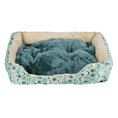 Cuccia Tappetino per Pet Dog Divano Letto A Forma di Stuoia Lettino Divano Staccabile Pet Bed Dog Pad Canili Riscaldamento Invernale Grande Cesto Materasso Letto 45X28,5X12 Cm