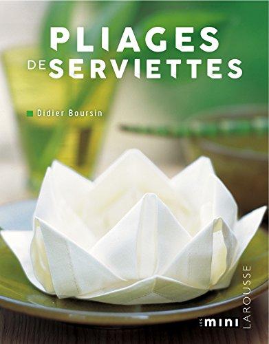 Pliages de serviettes (Hors Collection - DIY (31320))