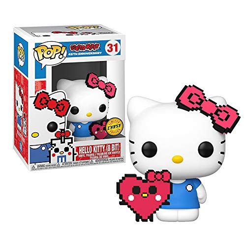Funko Pop Hello Kitty 45th Anniversary Hello Kitty (8 bit) Chase Limited Edition