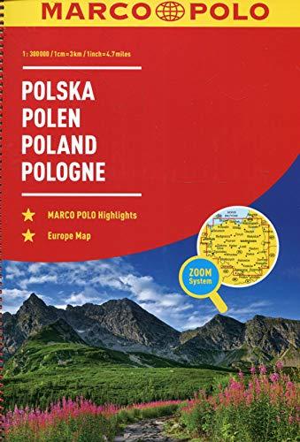 MARCO POLO ReiseAtlas Polen 1:300 000: Europa 1:4 500 000 (MARCO POLO Reiseatlanten)