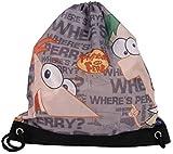 Disney Phineas und Ferb Turnbeutel Perry Tasche Schwimmtasche 40x30cm