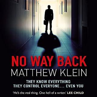 No Way Back audiobook cover art