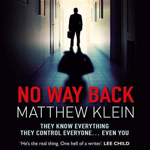 No Way Back audiobook cover art