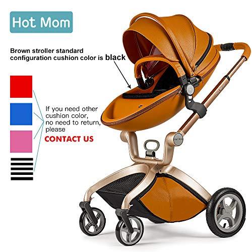 Poussette combinée bébé 3 en 1 nacelle, Siége auto group 0+, 2020 Fashion (Brown)