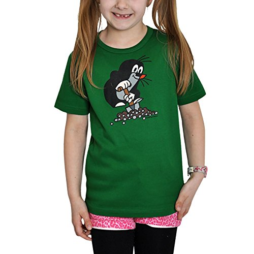Der kleine maulwurf logoshirt tee-shirt enfant vert 122/134