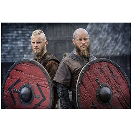 JFGJF Vikings - Serie TV drammatica storica Stagione Mostra Immagini Poster e Stampe Stampe su Tela Wall Art for Living Room Home Decor-20X30 inch No Frame