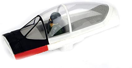 ParkZone Clear Canopy & Painted Pilot with Pedestal: T-28
