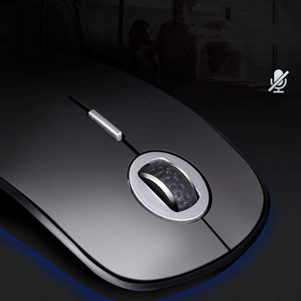 Color : Pink GHjkj Bluetooth Mouse Wireless Mute Charging Computer Notebook Game Office Business Home