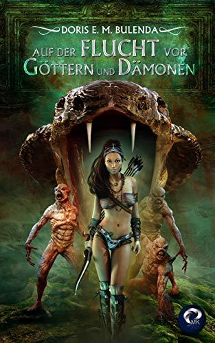 Buchseite und Rezensionen zu 'Auf der Flucht vor Göttern und Dämonen' von Doris E. M. Bulenda