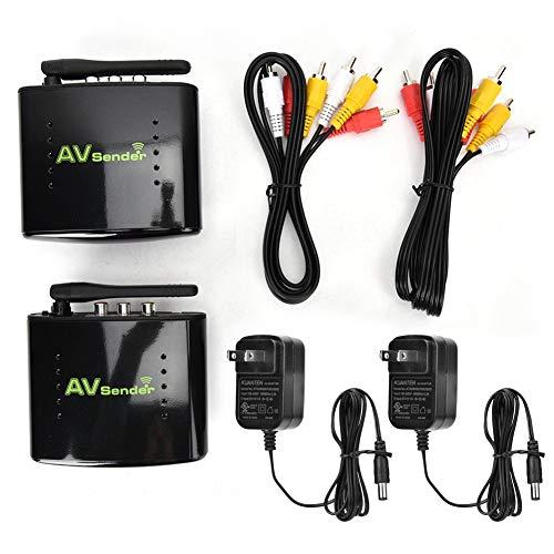 AV Sender Transmitter & Receiver,Wireless HDMI Transmitter & Receiver 5.8GHz Wireless AV Sender 1-for-All Real-time Data Transmission-200m Data Transmission-Wide Compatibility .(US)